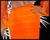 Summer Orange Skirt