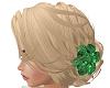 Blonde W/ Emerald Flower