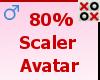 80% Scaler Avatar - M