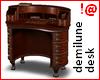 !@ Demilune desk