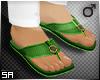 SA: Green Chappals
