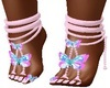Butterfly Pink Shoes