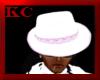 $KC$ Mafia Hat Wht/Pink