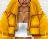 ṩPuffer Coat Yellow