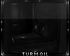 [T] Black PVC Chairs