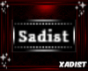 Badge: Sadist