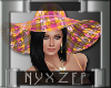 Beach Party Hat Pink/Yel