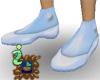 Sky Blue Ballet Shoes