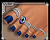 BLUE TOES N RINGS