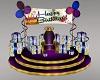 A~Purple Birthday Throne