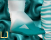 Teal/Silver Claws M