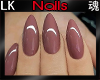 *LK* Nails in Nude