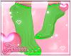 ! F. Limegreen Feeties