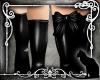 *SK* Latex Legs Black