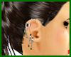 Green Earring Chain