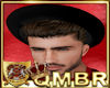 QMBR Hat Bowler Blk-Rd