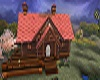 casa legno vuota