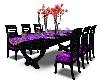 Purple Floral Banquet