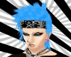 FE blue freddy hair