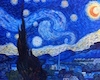Canva V Gogh Starry nite