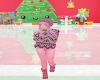 kids pink pink winter