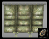 Sage Flowered Curtain