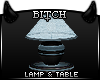 !B Home Lamp & Table