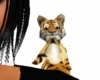 Tiger on shoulder (girl)