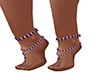 N~ Plum Foot Jewels