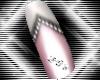 LTR Chevron Slndr Nails