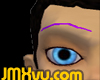 !JMXvu! Purple Eyebrows