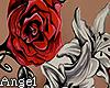 Rose tattoo back