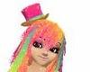 Jelly Rainbow Top Hat