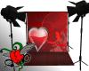 {C} Heart Shower