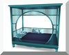 Teal Cuddle Day Bed