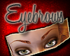 Realistic Red EyeBrows