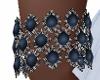 E*  Bracelets -blue
