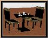 Black N Gold Dine Table