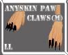 (LL)Anyskin Paw Claw M