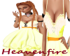 ^HF^ Yellow Easter Dress
