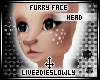.L. Furry Face Head 1