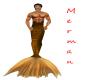 Male Gold Merman