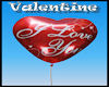 Balloon San valentin