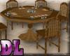 DL: Western Poker Table
