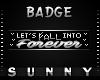 Fall Badge