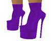 @LEATHER PURPLE BOOTS