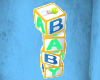 Baby Blocks 3D Sign