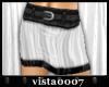 [V7] B&W Mini Skirt