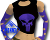 Purple skull top