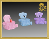 Pastel Teddy Seats